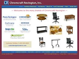 Chromcraft Revington Competitors, Revenue And Employees ... Midcentury Commander Floater Settee By Chromcraft Sculpta Star Trek Ding Set American Inc Amazoncom Caster Chair Company Peyton Swivel Tilt Replacement For Chairs Swivel 2 Directors Woven Brown Leather Chrome Mid Pair Of Original Ding Apartment Century Acton Stacker In Bright Orange From The Seating Pristine Chair Colctible Sure Is Comfortable 2x Mesh Back Stack Arm Upholstered Office School Church Meeting Six Midcentury Modern Alex