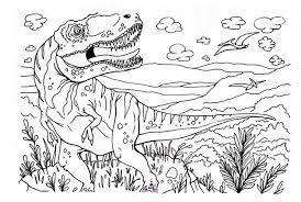 Dinosaur Coloring Photo Gallery On Website Dino Book