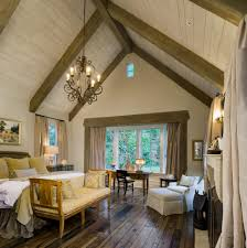 100 Wood Cielings Painted Wood Ceilings Bedroom Traditional With Cathedral