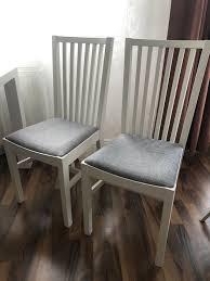 esszimmerstühle esstischstuhl ikea norrnäs weiß holz grau stuhl