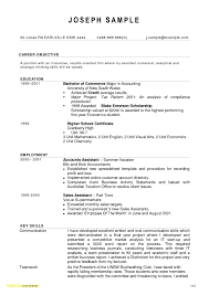 Objective For Accountant Resume Refrence Resumes New 23 Accounting Sample Free