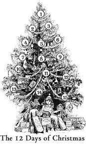 In Some Places It Is Traditional To Give Christmas Gifts For Each Of The Twelve Days