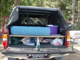 100 Truck Camping Ideas Bed Sleeping Platform Design Show Us Your Truck Bed Sleeping