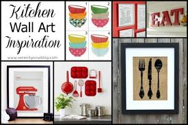 Kitchen Decorating Ideas Wall Art Endearing Decor