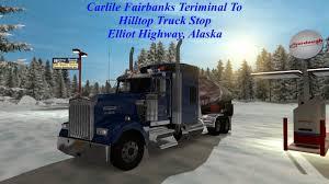100 Carlile Trucks Fairbanks To Hilltop Truck Stop American Truck Simulator YouTube