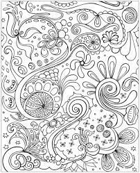 Crafty Inspiration Adult Color Pages Free Coloring Detailed Printable For