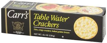 table carr cuisine carr s crackers table water 12x120g avid gourmet gourmet food