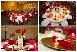 Add Bling To Your Wedding Day With Red And Gold Themes