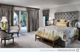 Smartness Ideas Yellow And Grey Bedroom Amazing Decoration 15 Visually Pleasant Designs