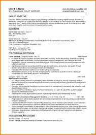 Resume Summary Examples Best Entry Level Objective