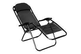 Reclining Camping Chairs Ebay by Folding Gravity Sun Lounger Chair Recliner Garden Sun Deck Bed