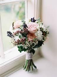 Pretty Floral Wonderland DIY Wedding Lavender BouquetBlack Rose BouquetFlower