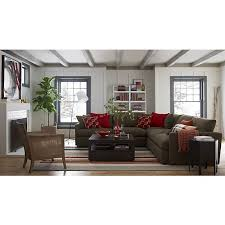 axis ii 3 piece sectional sofa sectional sofas crate and barrel