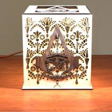Laser Cut Lamp Kit by How To Laser Cut An Alexa Enabled Lamp For A Gameroom 8 Steps