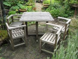Discount Teak Furniture Weathered Outdoor Chairs
