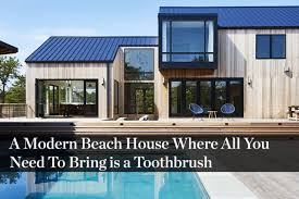 100 Modern Beach Home In The Hamptons A House Where All You Need To Bring Is