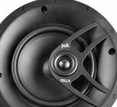 Polk Ceiling Speakers Mc80 by Polk Audio 6 5