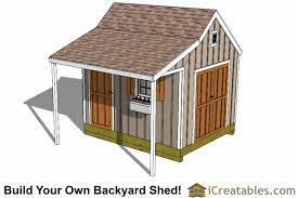 Saltbox Shed Plans 10x12 by 10x12 Shed Plans With Porch Cape Cod Shed New England Shed