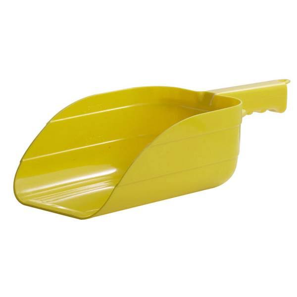 Little Giant 5 Pint Plastic Utility Scoop Yellow