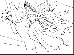 Awesome Fairy Coloring Pages To Print With Fairies And Online