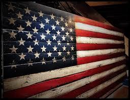 36 American Flag Sign