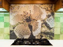kitchen backsplash with glass mosaic border new jersey custom tile