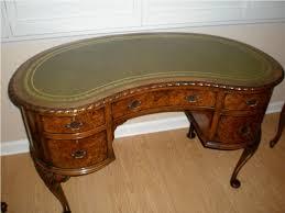 Kidney Shaped Executive Desk Desk Design Antique Kidney Shaped
