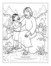 Jesus Is My Friend Coloring Page AZ Pages