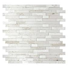 tiles emser 5 pack silver gray slate floor and wall tile common