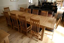 Brilliant Extending Dining Room Table Seats 12