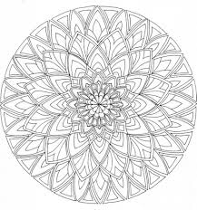 Coloring Page Free Printable Mandala Pages Adults Peruclass In For
