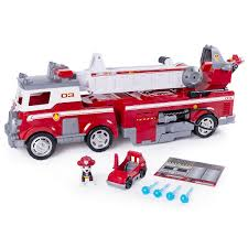 100 Fire Trucks Toys Paw Patrol Ultimate Rescue Truck