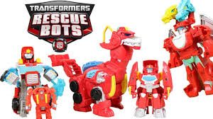 100 Rescue Bots Fire Truck Transformers Heatwave Truck Dragon Dinobot Boat Mode So Many Modes Of Heatwave