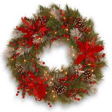 Frontgate Christmas Trees Uk by 55 Best Christmas Door Wreath Ideas 2017 Decorating With