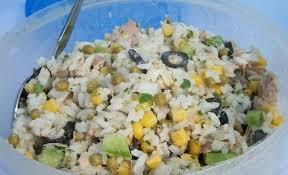 cuisine salade de riz recette salade de riz thon et maïs recettes maroc