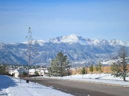 Little Snow In Colorado Springs Picture Denver Pueblo Fence