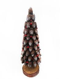 Pine Cone Christmas Tree Statue Design With Color Changing LED Lights Decor ChristmasTree ArtificialTree