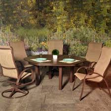 Aluminum Sling Stackable Patio Chairs by Sling Patio Furniture Outdoor Patio Furniture Clearanced Patio