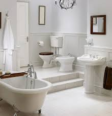 Half Bathroom Ideas With Pedestal Sink by 27 Relaxing Bathrooms Featuring Elegant Clawfoot Tubs Pictures
