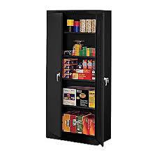 Tennsco Standard Storage Cabinet by Tennsco Storage Cabinet Unassembled Black 4w032 1470 Black