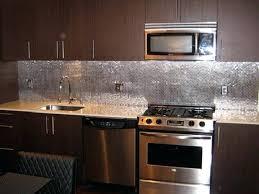 Stainless Steel Tile Backsplash Ideas Interior Kitchen Designs For