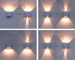 cree outdoor wall light led up wall sconces adjustable wall