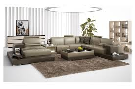 canape panoramique canapé d angle panoramique en cuir en deux teintes modèle