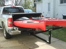 100 Kayak Rack For Pickup Truck 42 Holder Homemade PVC Can Store 4