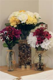 Silk Flowers Artificial Flowers For Vases Vase And Cellar Image