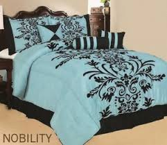 blue and black bedding Google Search Jess Bedroom