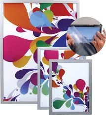 cadre snapframe belitec impression numérique grand format stand
