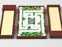 This Lego Set Is The Replica Of Famous Board Game Jumanji Became Thanks To Eponymous Movie Directed By Joe Johnston In 1995