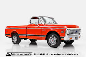 1971 Chevrolet C10 Super Cheyenne | Classic Car Studio 1971 Chevrolet C20 Pickup W171 Indy 2012 Unstored Shortbed C10 Httpbarnfindscom 71 Cheyenne Super Short Bed Sold Youtube Cst Pickups Panels Vans Original C 10 Pole Cat For Sale In Key Largo Fl Nations For Sale Ck Truck Near Cadillac Michigan 49601 Fast Lane Classic Cars Sale Classiccarscom Cc1055432 C50 Stake Bed Dump Truck Item H9371 Sold Questions How Much Is A Chevy Pickup Gateway 1038ord