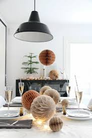 silvester deko leichte und schnelle tischdekoideen für die